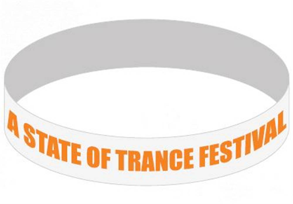 A State Of Trance A State Of Trance - White Wristband
