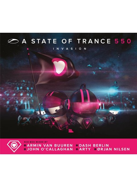Armada Music Armin van Buuren & Friends - A State Of Trance 550