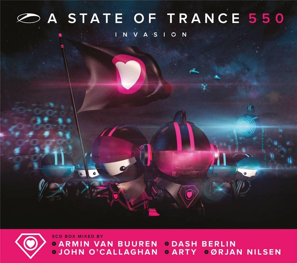 Armada Music Armin van Buuren & Friends - A State Of Trance 550
