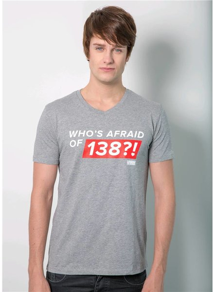 Armin van Buuren Armin van Buuren - Grey Who's Afraid Of 138?! T-Shirt