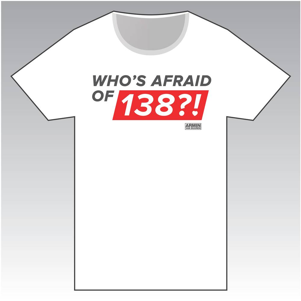 Who's Afraid Of 138?! - White Round-Neck T-Shirt - Men