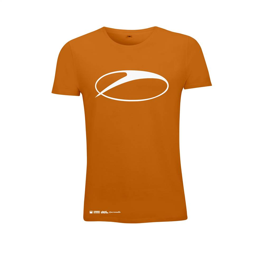 A State Of Trance A State Of Trance - Orange Swoosh Logo - Women