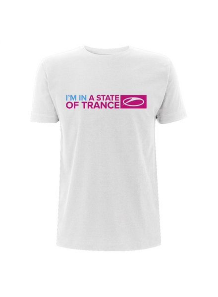 A State Of Trance A State Of Trance - I'm In A State Of Trance White T-Shirt