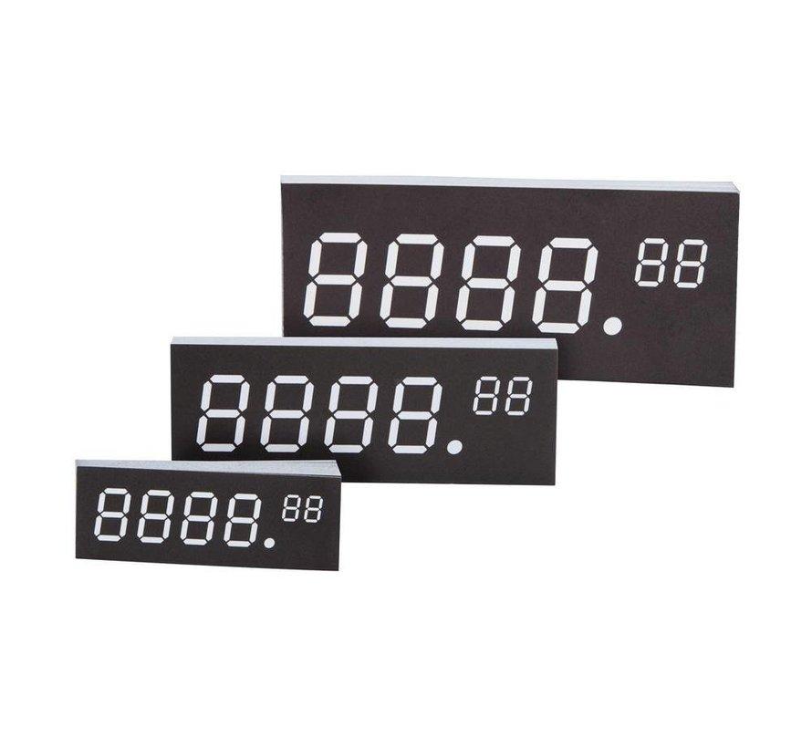 Inschuifbordjes scannerprofielen digitale cijfers