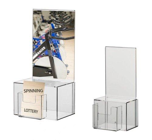 Loterijbox met kaartinschuif