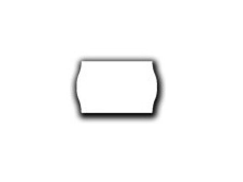 Uno prijsetiketten 26x16 wit - 1ds à 36 rol