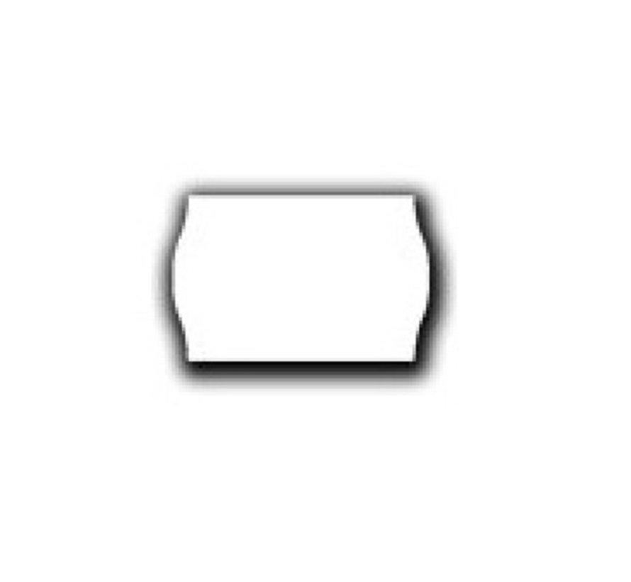 prijsetiketten 26x16 wit - 12 rol à 1000 etiketten