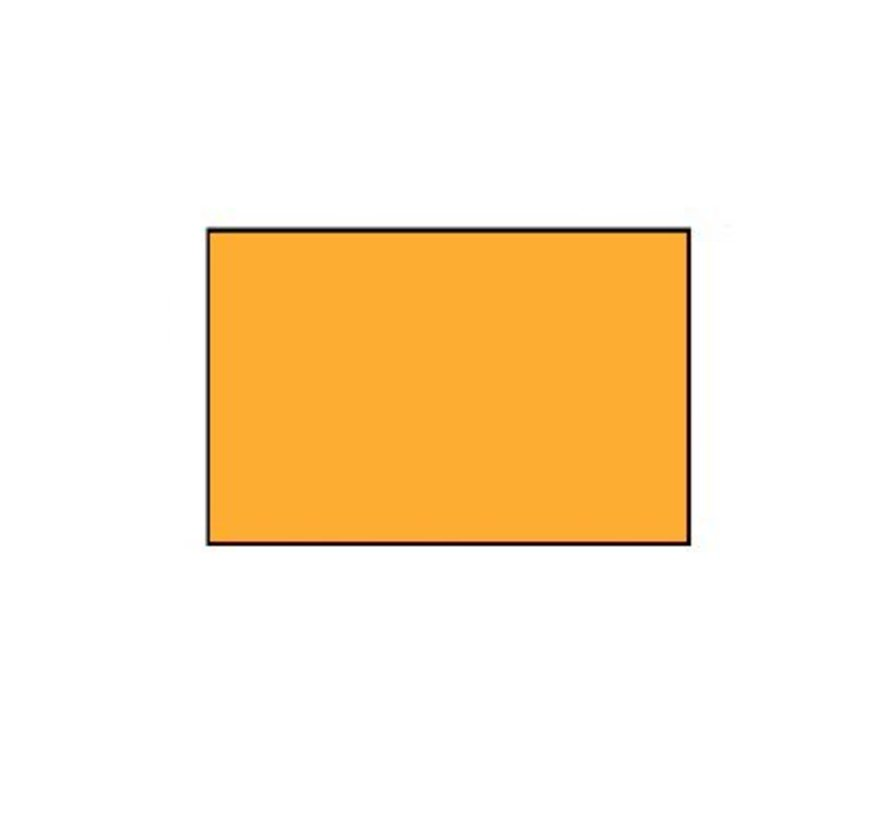 prijsetiketten 26x16 fluor oranje rechthoek - 1ds á 36 rol