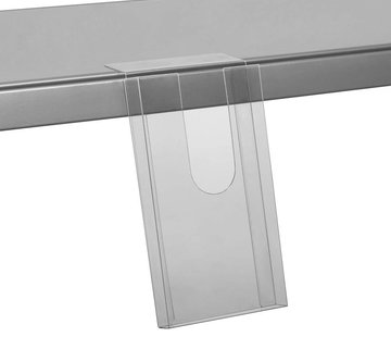 Schapfolderhouder om op te plakken (110 x 200 x 20 mm)