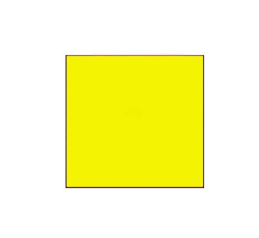 Prijsetiketten 29x28 fluor geel - 1 ds à 30 rol
