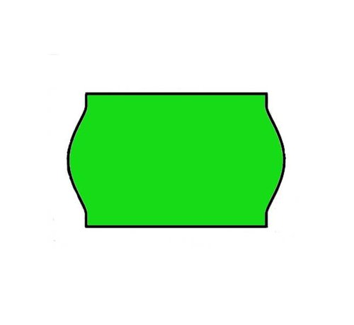 BLITZ Prijsetiketten 26x16 Fluor groen - 1ds à 36 rol