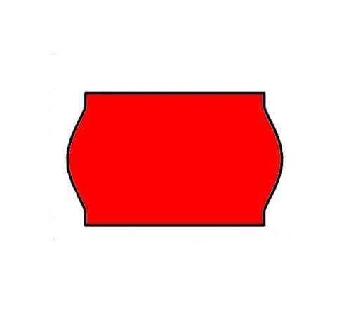 BLITZ etiketten 26x16 rood - 1ds á 36 rol
