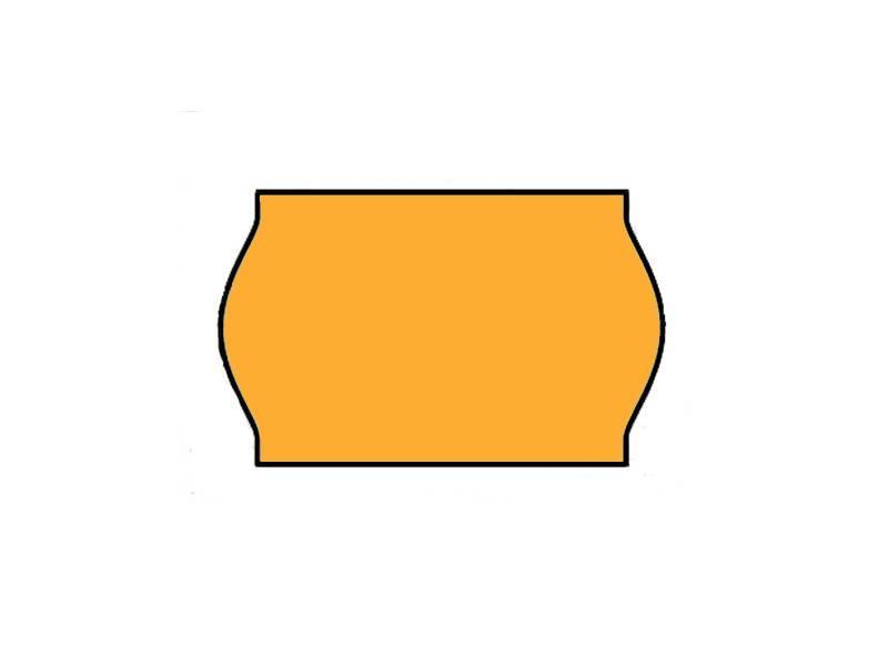 BLITZ Prijsetiketten 26x16 Fluor Oranje - 1ds à 36 rol