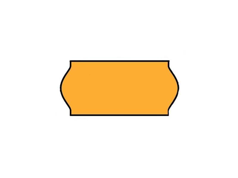 BLITZ Prijsetiketten 26x12 Fluor Oranje - 1ds à 36 rol