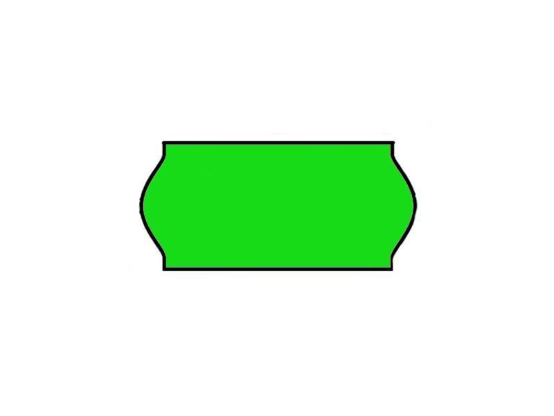 BLITZ Prijsetiketten 26x12 Fluor groen - 1ds à 36 rol