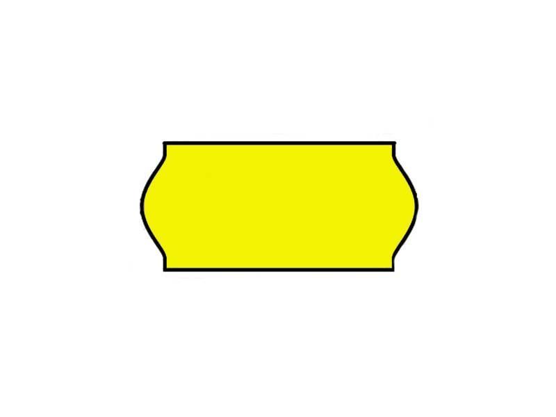 BLITZ Prijsetiketten 26x12 Fluor geel - 1ds à 36 rol