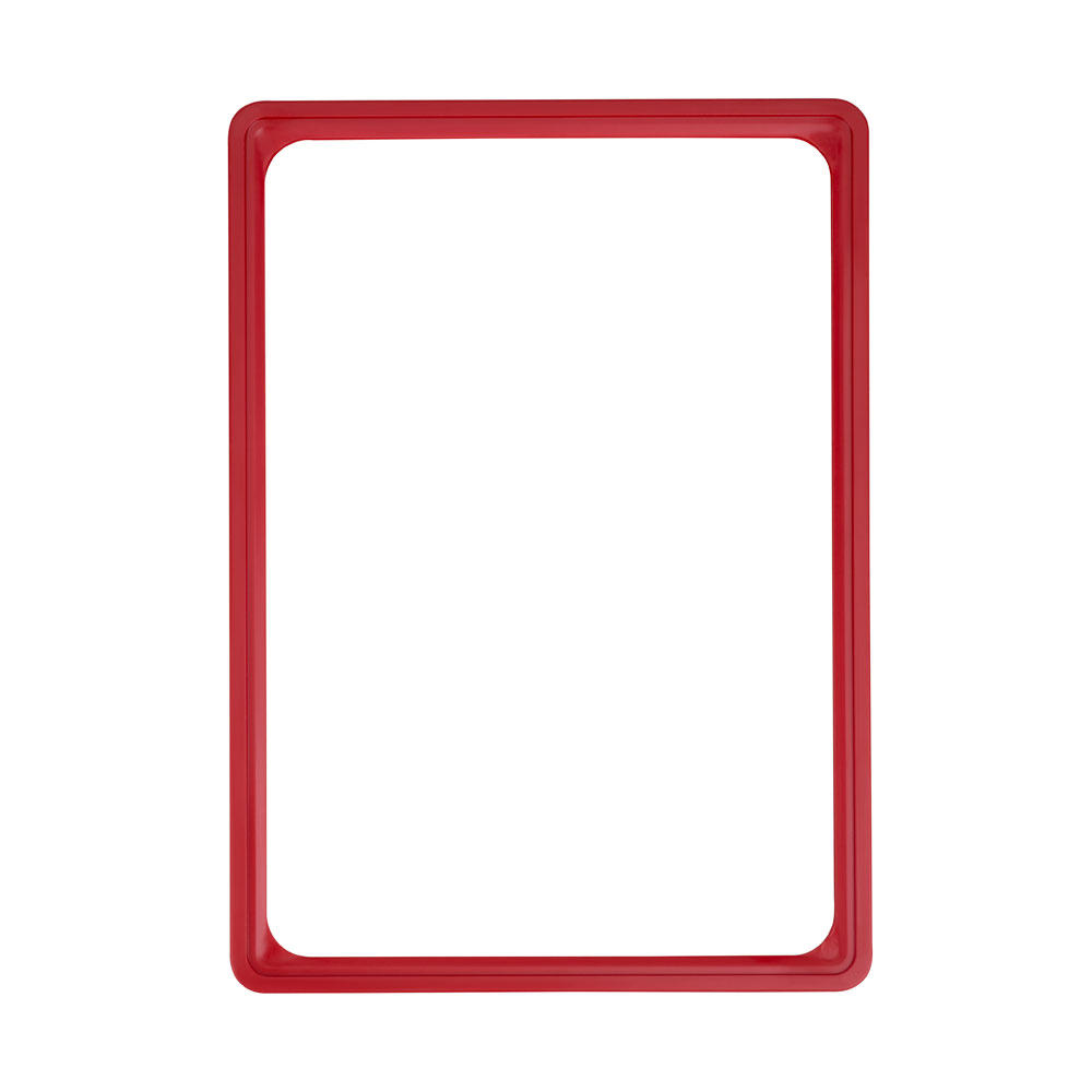 Kaartraam rood A4
