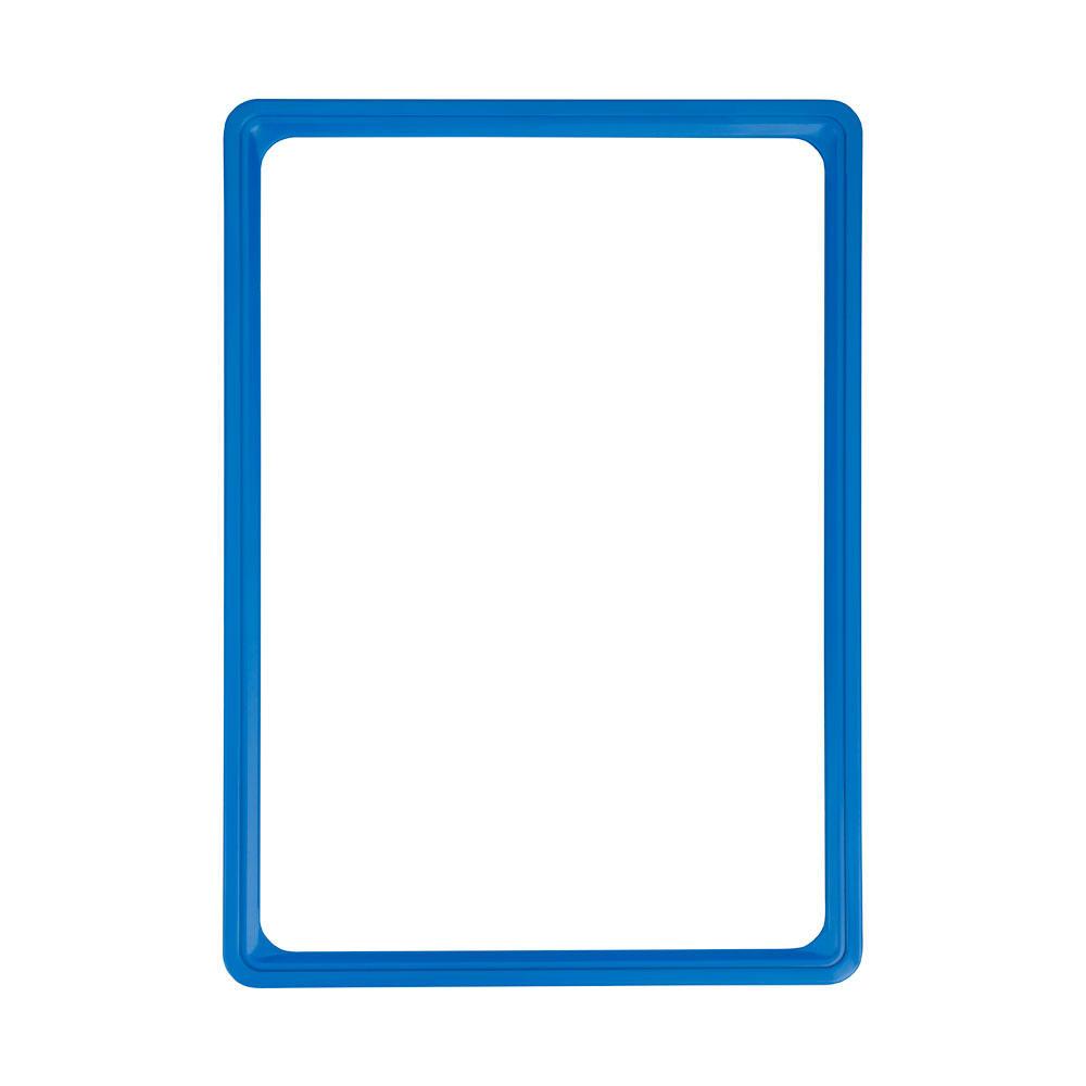 Kaartraam blauw A4