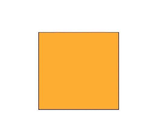 METO Prijsetiketten 29x28 fluor oranje - 1 ds à 30 rol