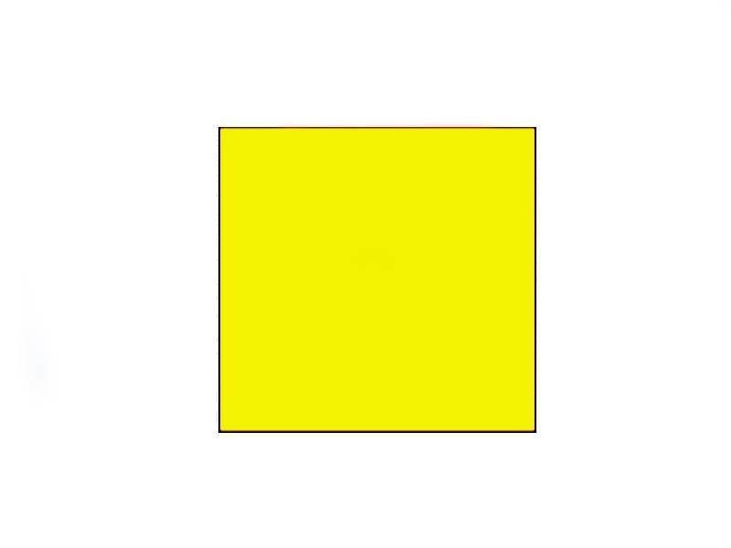 METO Prijsetiketten 29x28 fluor geel - 1 ds à 30 rol
