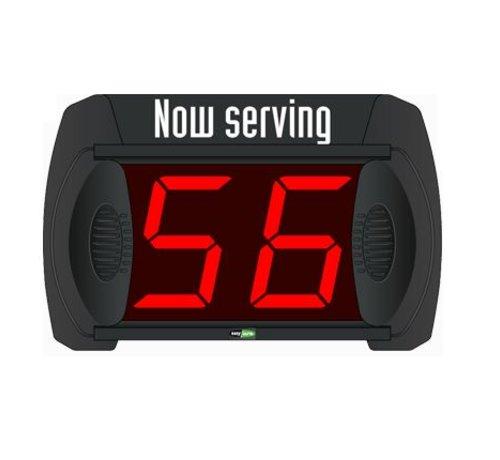 Scherm Volgnummersysteem Minipoint