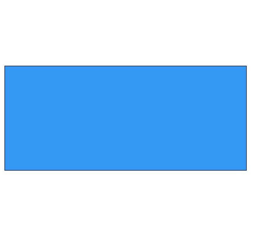 Prijsetiketten Contact 37x19 blauw - 1ds á 30 rol