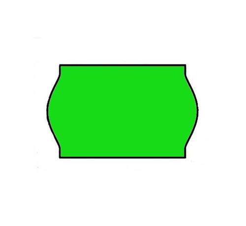 Contact prijsetiketten 26x16 / 25x16 fluor groen - 1ds à 36 rol