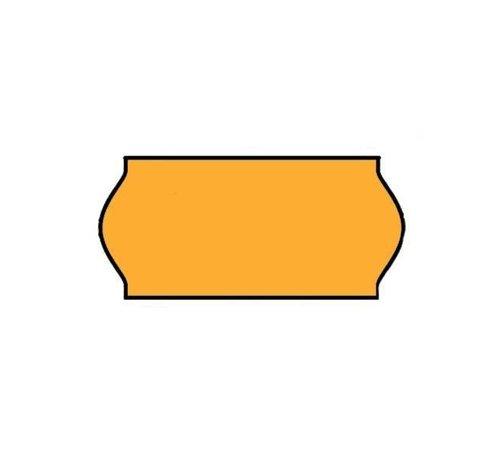 Prijsetiketten Universeel 26x12 oranje - 1 ds à 36 rol