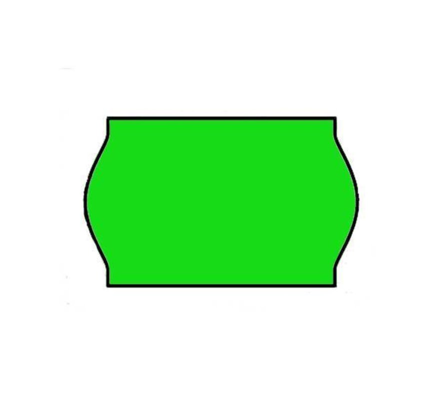 Prijsetiketten 26x16 groen Universeel - 1ds á 36 rol