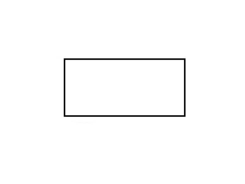 Prijsetiketten 26x12 rechthoek wit Universeel - 1ds á 36 rol