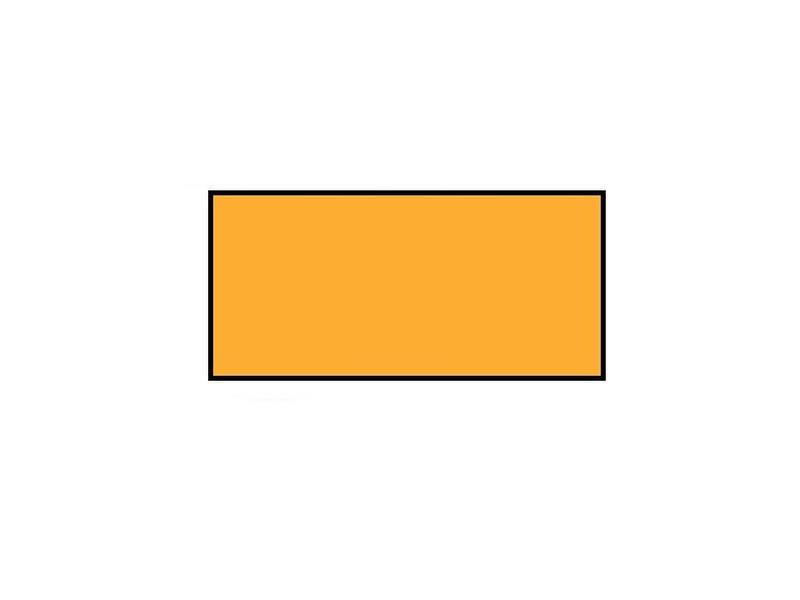 Prijsetiketten 26x12 rechthoek fluor oranje Universeel - 1ds á 36 rol