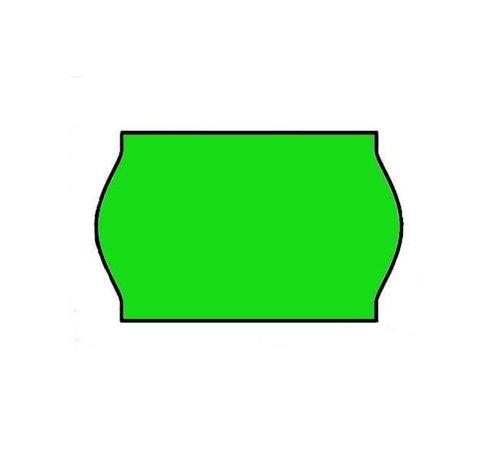 Prijsetiketten 26x16 groen - 1ds á 36 rol (geschikt voor METO)