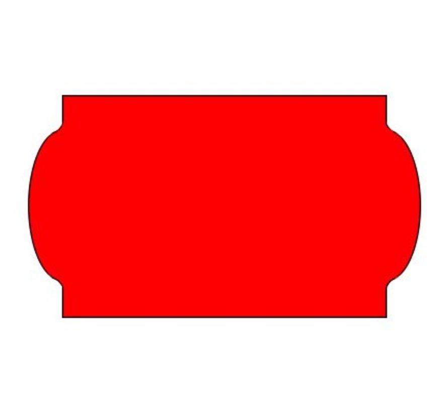 etiketten 32x19 rood - 1ds á 30 rol