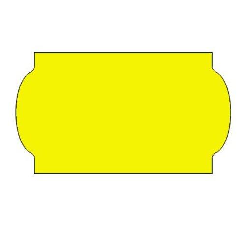METO Prijsetiketten 32x19 fluor geel - 1ds á 30 rol - meto