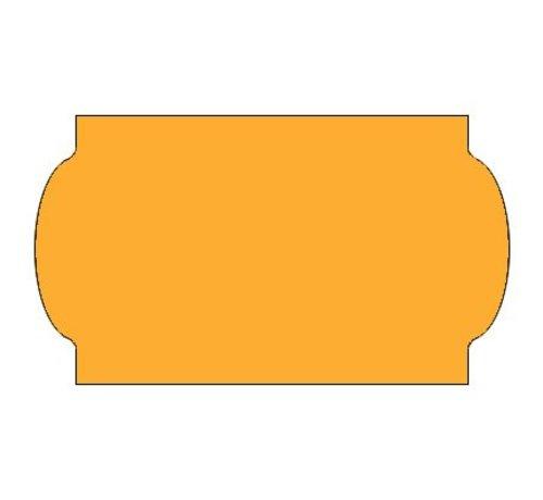METO Prijsetiketten 32x19 fluor oranje - 1ds á 30 rol - meto