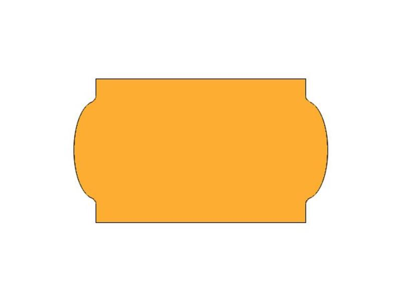 Prijsetiketten 32x19 fluor oranje universeel - 1ds á 30 rol