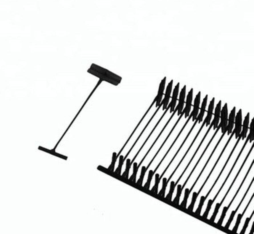 Riddersporen S Nylon (standaard) 5000st - Zwart