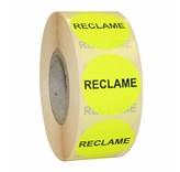 Actiesticker RECLAME - rond 35mm
