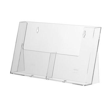 Folderhouder Spree 2-vaks DIN A5