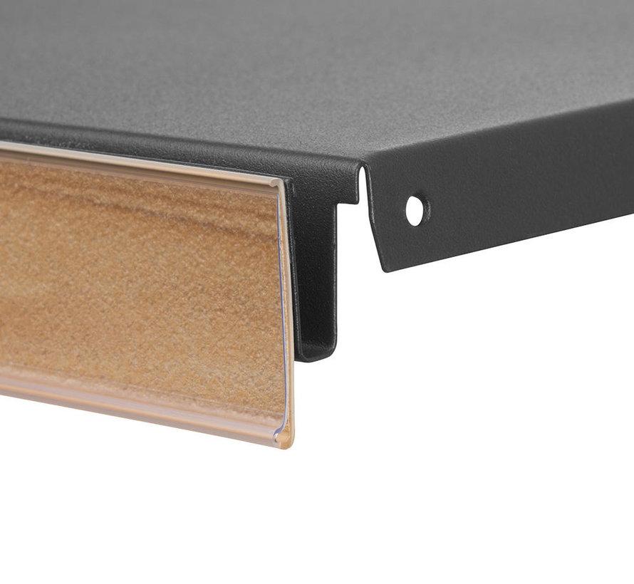 Scannerprofiel houtdecor inschuifhoogte 39 mm