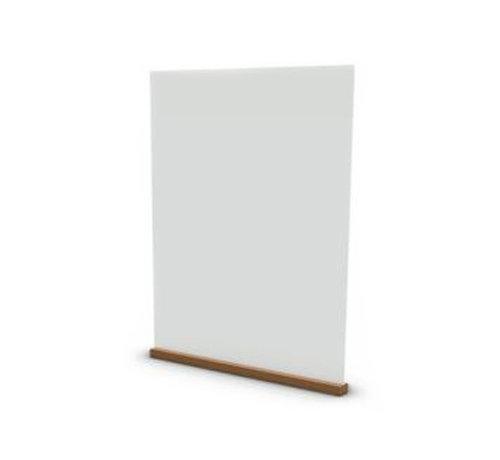 Plexiglas Scherm ter preventie - Staand 80x100 cm