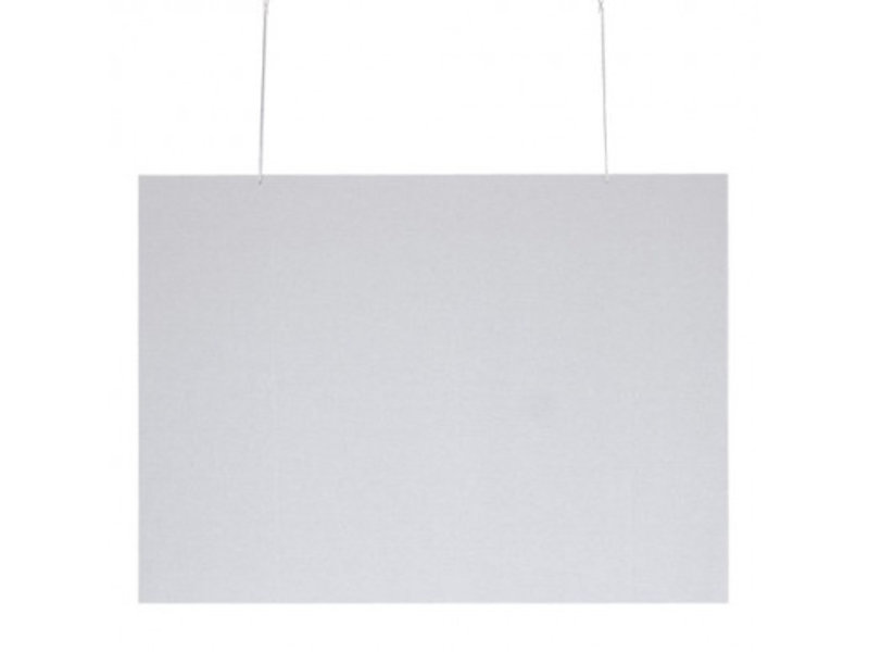 Klantenscherm Plexiglas - Hangend