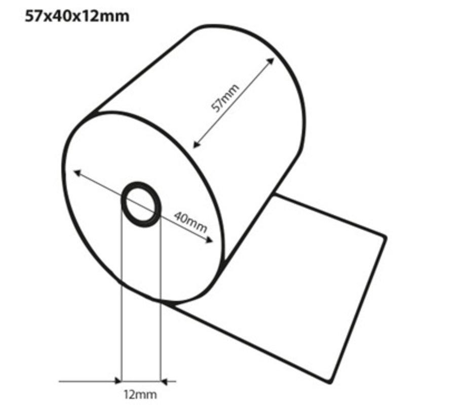 Thermorollen 57x47x12mm GO GREEN FSC
