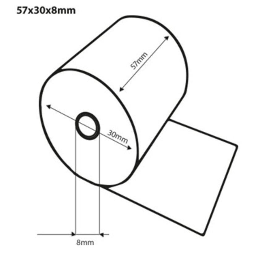 Thermorollen 57x30x8 mm