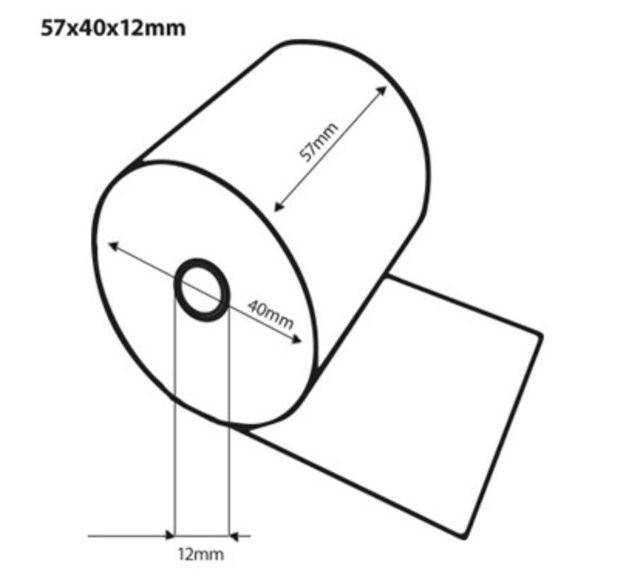 Thermorollen 57x40x12 mm