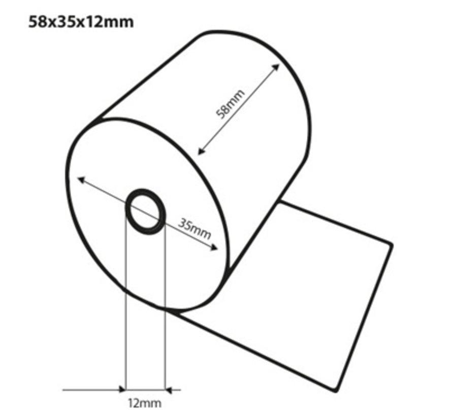 Thermorollen 58x35x12 mm