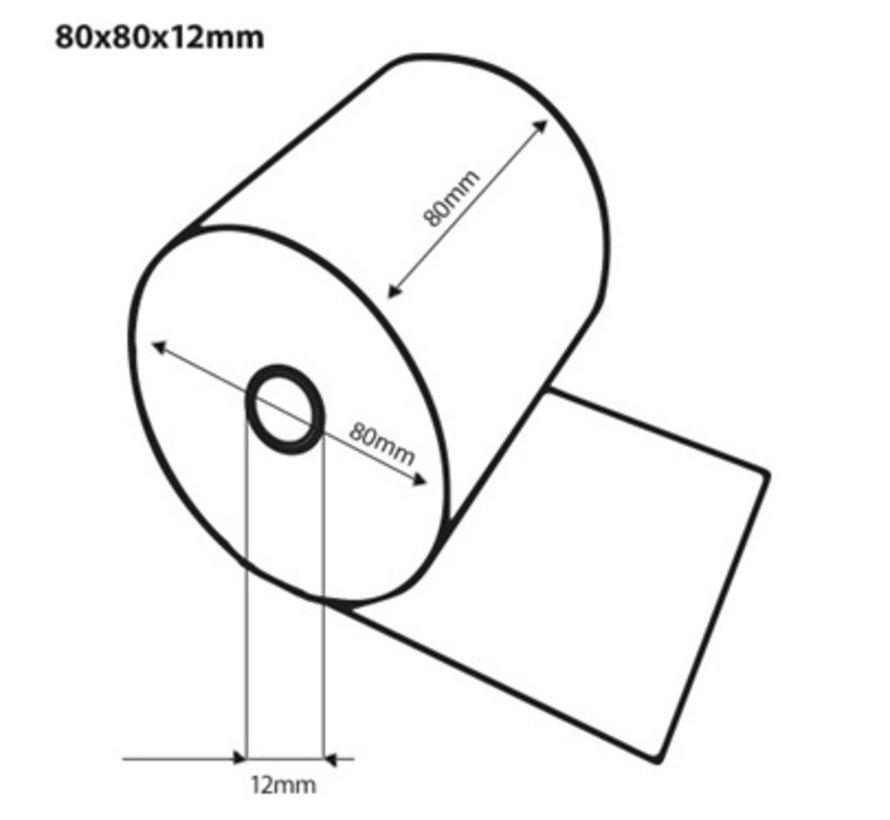 Thermische kassarol 80x80x12 mm - 30 st/ds