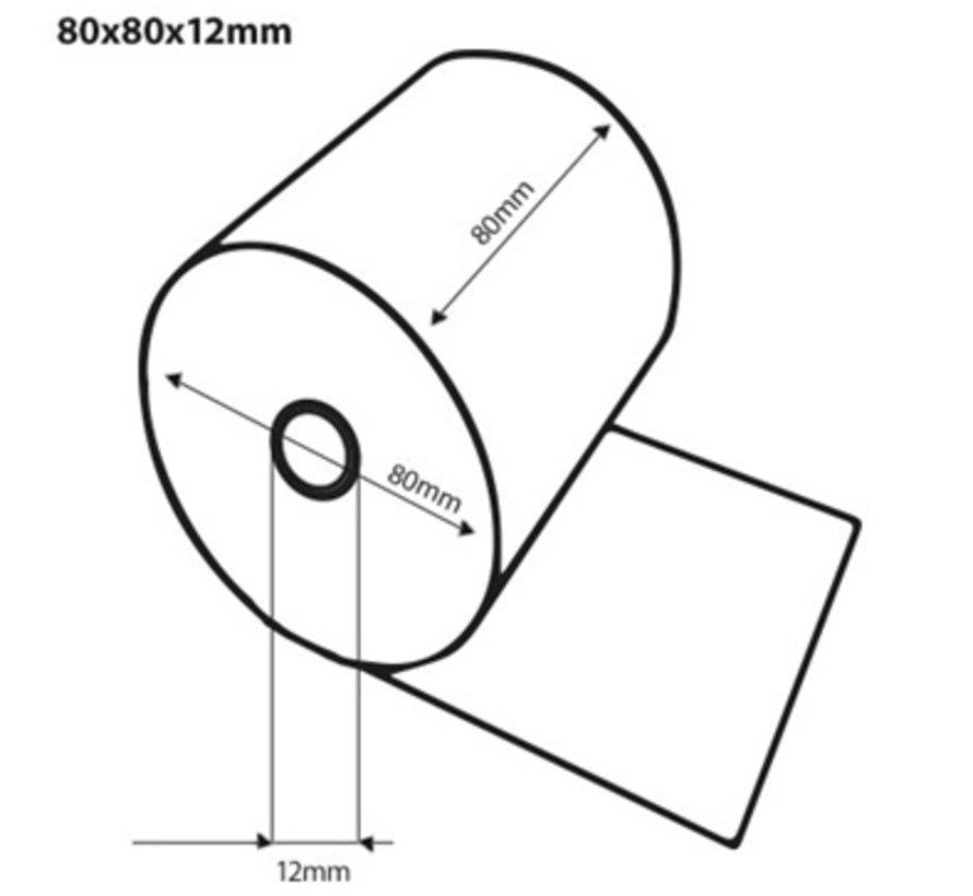 Thermorollen 80x80x12 mm - GoGreen / FSC