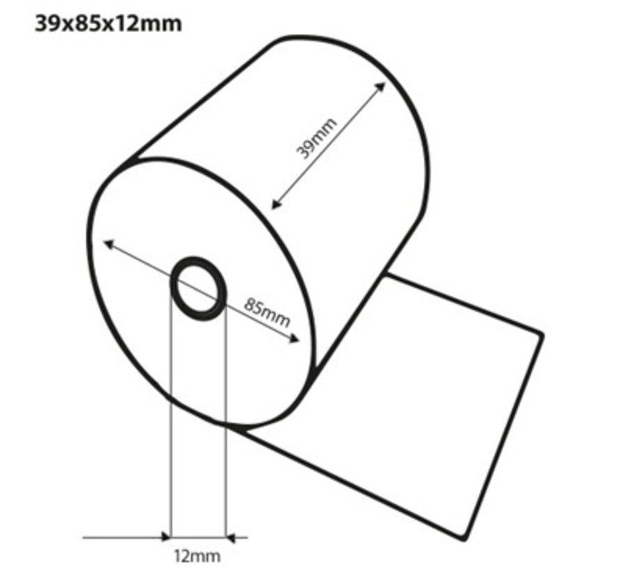 Thermorollen 39x85x12 mm CI