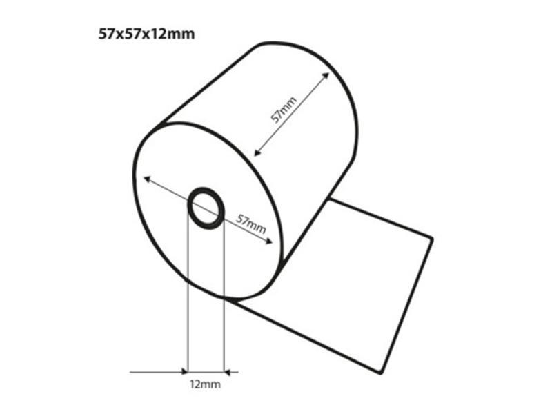 Thermorollen 57x57x12 mm